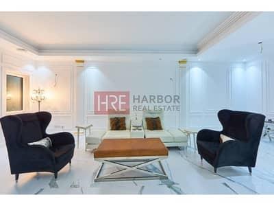4 Bedroom Villa for Rent in Dubai Festival City, Dubai - Must See Superior Upgrade Private Garden Corner 