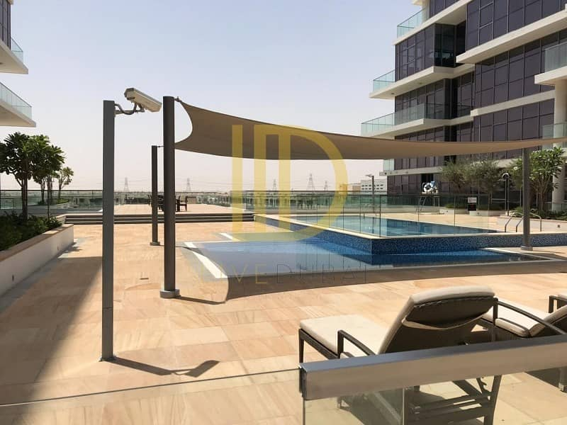 1 Bed 55K 4 Chqs in Damac Hills Orchid B Golf Course View HL