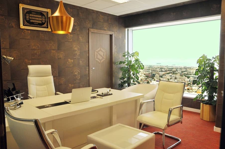 Fully serviced office in the heart of Dubai in a 5* location