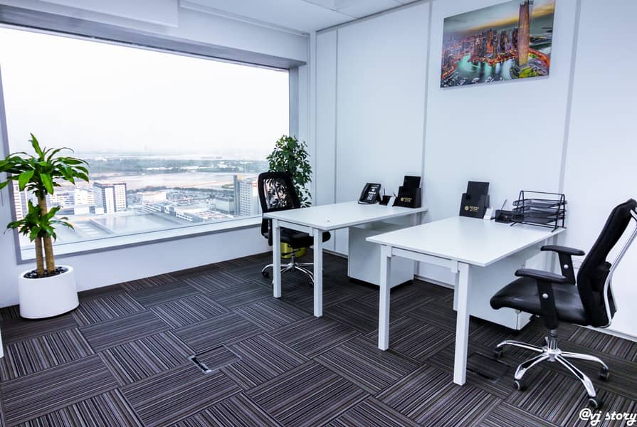 2 Fully serviced office in the heart of Dubai in a 5* location