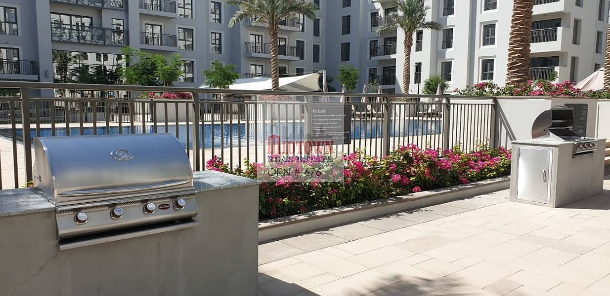 2 POOL VIEW* Amazing brand new 2bhk for rent in Nshama safi just for and 63k