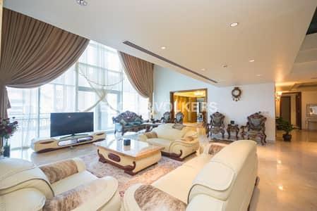 بنتهاوس 4 غرفة نوم للبيع في نخلة جميرا، دبي - Ready to Move-in | Fully Furnished |BBQ Area