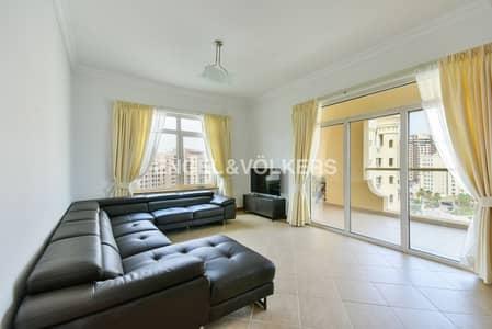 فلیٹ 3 غرفة نوم للبيع في نخلة جميرا، دبي - Fully Furnished |Rented | Type A | High Floor
