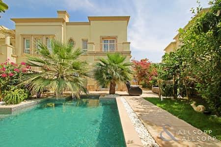 3 Bedroom Villa for Sale in The Springs, Dubai - Full Lake View   3 Bedrooms   Private Pool