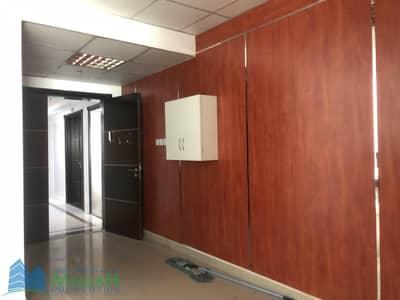 مکتب  للايجار في القصيص، دبي - 973 sq.ft Ready Office with Glass Partition near Al Mulla Plaza