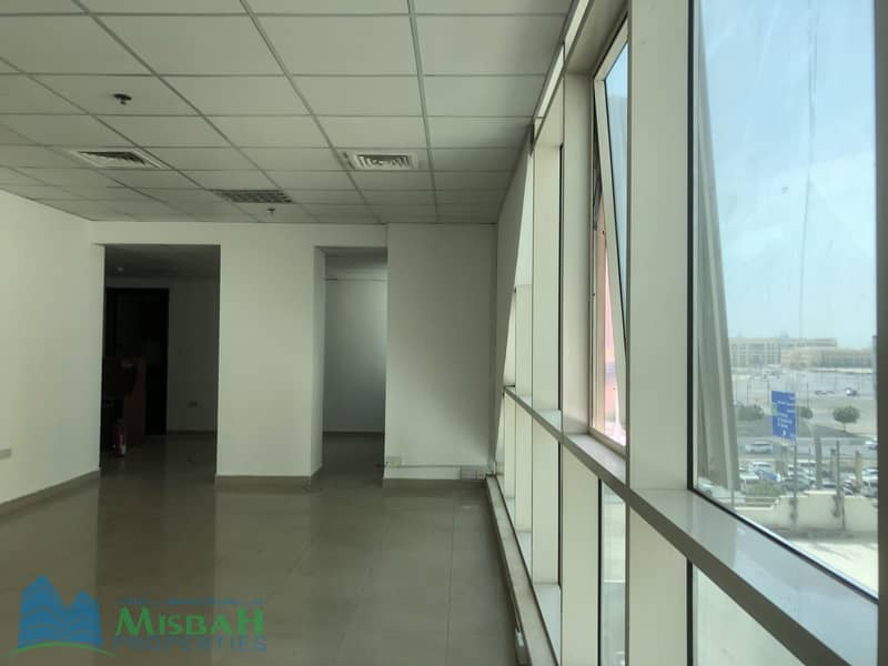 2 948 sq.ft Ready to Move Office with Free Parking near Al Mulla Plaza
