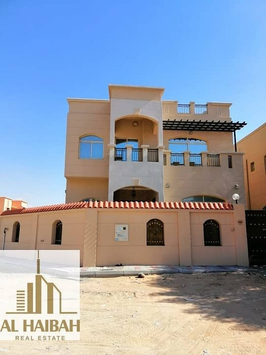 Villa for sale in Ajman with electricity and water at a special price