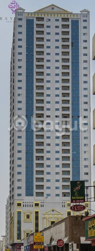 فلیٹ 2 غرفة نوم للايجار في شارع الوحدة ، الشارقة - 2 bhk flat at best location