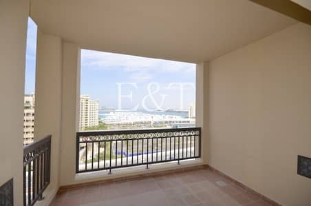 1 Bedroom Apartment for Sale in Palm Jumeirah, Dubai - Large 1 bedroom with Burj Al Arab View