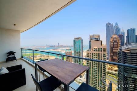 1 Bedroom Flat for Sale in Dubai Marina, Dubai - 1 Bedroom | Study | High Floor | Sea Views