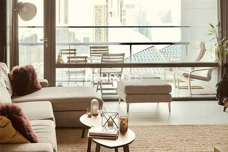 1 Bedroom Flat for Rent in DIFC, Dubai - High Floor | Stylish Furniture | Balcony