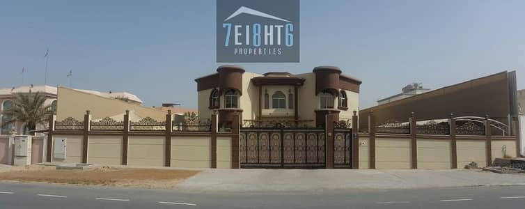 5 Bedroom Villa for Rent in Al Mizhar, Dubai - Stunning private s/ pool & Lift: 5 b/r independent high quality luxury villa + servant quarters + drivers room