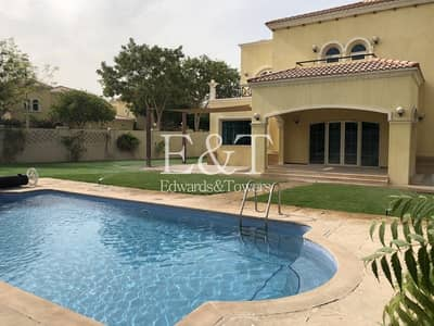 4 Bedroom Villa for Sale in Jumeirah Park, Dubai - District 2|4 BR Legacy Villa w/ Pool