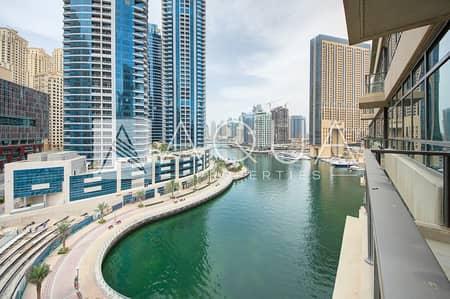 2 Bedroom Apartment for Rent in Dubai Marina, Dubai - 2 Bedroom with Huge Balcony Marina Quays