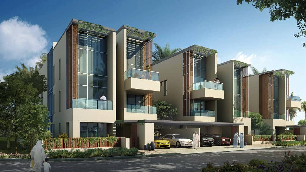 NEW VILLA IN MOHAMED BIN RASHID CITY READY TO MOVE AMAZING PAYMENT PLAN