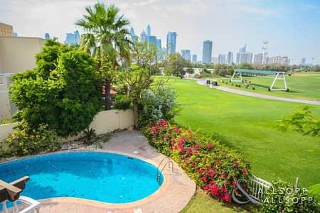 فیلا 6 غرفة نوم للبيع في السهول، دبي - Amazing Golf Course View | 6 Bedrooms T9