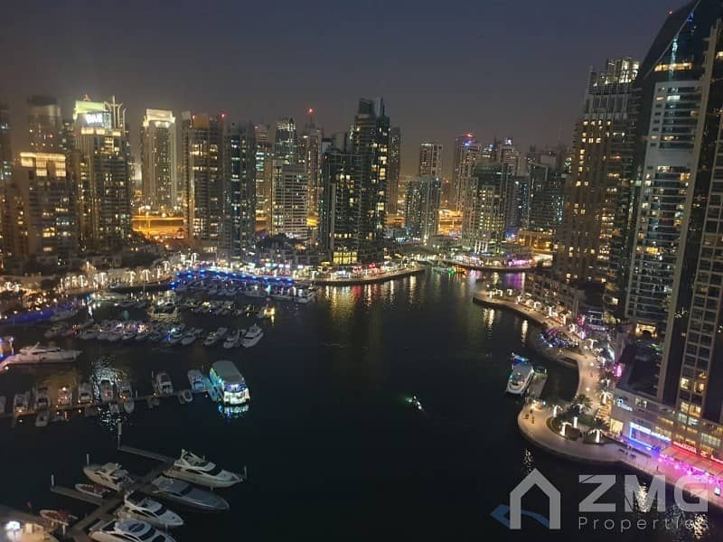 2BR Furnished|Amazing Marina View| Well Maintained
