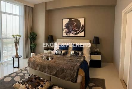 1 Bedroom Apartment for Sale in DAMAC Hills (Akoya by DAMAC), Dubai - GOLF COURSE VIEW | HIGH FLOOR | FURNISHED
