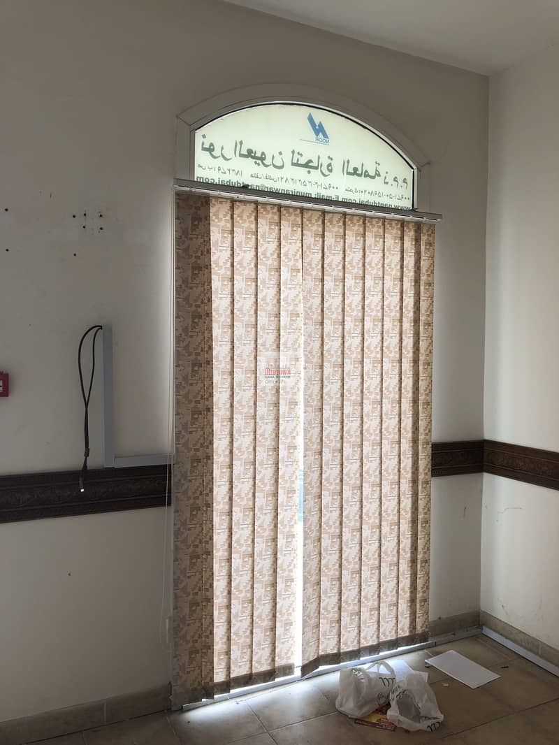 10 Fully fitted small shop available for rent in international city just for AED 24k