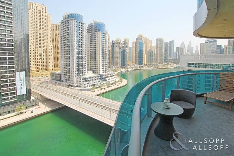 2 Full Marina View | 2 Bed | Fully Furnished