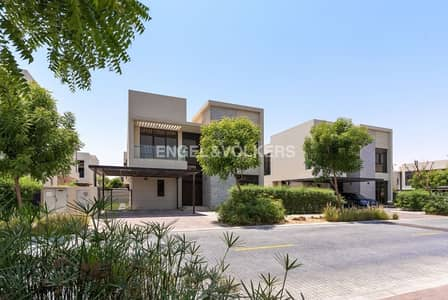 5 Bedroom Villa for Sale in DAMAC Hills (Akoya by DAMAC), Dubai - Vacant on Transfer | Landscaped | Type V-4