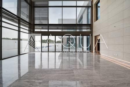 7 Bedroom Villa for Sale in Mohammad Bin Rashid City, Dubai - On The Lagoon Luxury Contemporary Basement