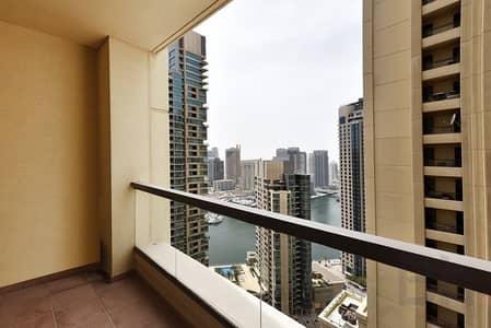شقة 2 غرفة نوم للبيع في مساكن شاطئ جميرا (JBR)، دبي - Marina View I High Floor I Motivated Seller
