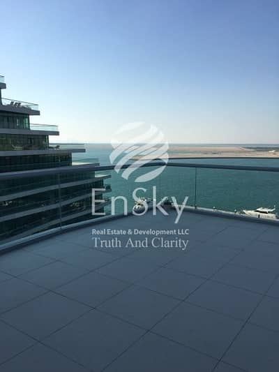 2 Bedroom Apartment for Sale in Al Raha Beach, Abu Dhabi - Sea and Barza View