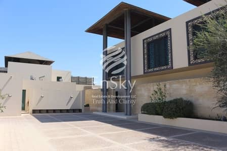 3 Bedroom Villa for Sale in Al Gurm, Abu Dhabi - Luxurious 3+1 Bedroom Villa with Private Beach acess
