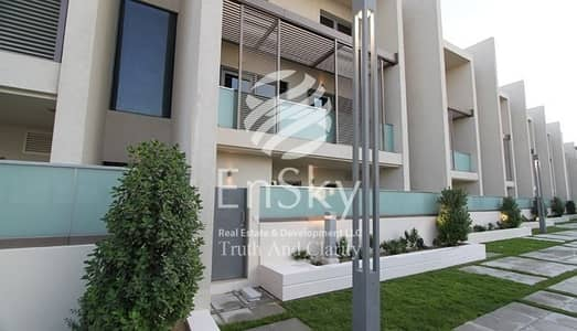 4 Bedroom Townhouse for Sale in Al Raha Beach, Abu Dhabi - Best Deal for a Water Facing Townhouse with rent back