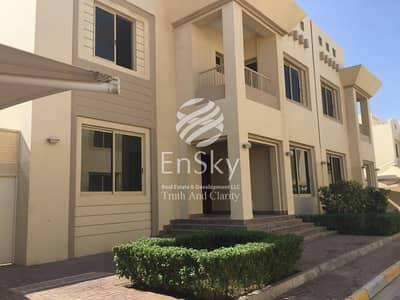 5 Bedroom Villa for Rent in Between Two Bridges (Bain Al Jessrain), Abu Dhabi - Spacious Villa With Swimming Pool Available For Rent!