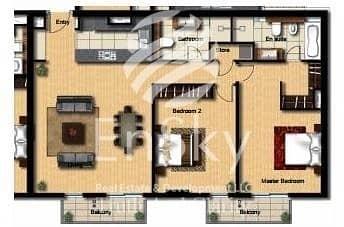 2  2 balconies