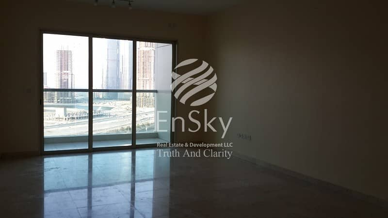 2 Ready To Move in this Beautiful Apartment  with Balcony