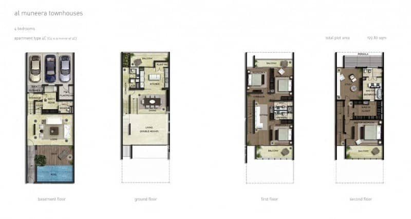 15 Best Deal!! Canal Facing Townhouse Available For Sale