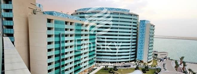 شقة 2 غرفة نوم للبيع في شاطئ الراحة، أبوظبي - Sea View in Fantastic Location with beach access