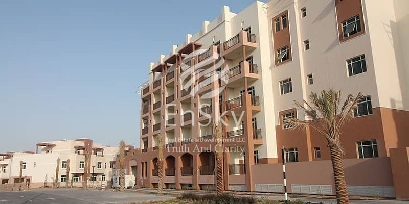 9  Pool View with Balcony Available in Al Ghadeer