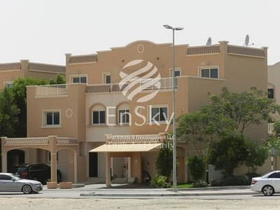 فیلا 3 غرف نوم للبيع في الريف، أبوظبي - Close To The Community Center Single Row Full Privacy