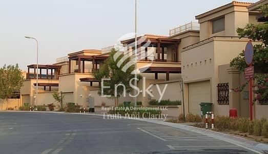 فیلا 4 غرف نوم للبيع في حدائق الجولف في الراحة، أبوظبي - Vacant 4+M Villa+Swimming Pool+2 Garage Parking