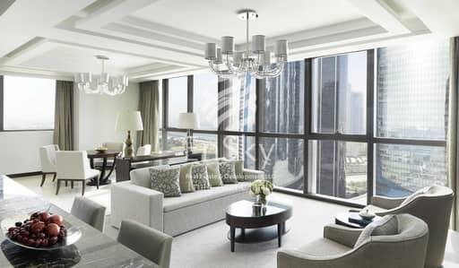 فلیٹ 1 غرفة نوم للايجار في منطقة الكورنيش، أبوظبي - 5 Star Luxurious Furnished 1BR with Monthly Payments