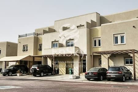 3 Bedroom Villa for Rent in Al Reef, Abu Dhabi - Well Maintained Villa with Backyard Available to Move In