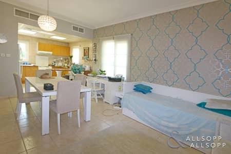 شقة 1 غرفة نوم للايجار في جرين كوميونيتي، دبي - Corner Unit | One Bedroom | Garden Terrace