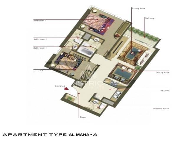 17 Hot Deal! 2BR Apartment in Al Maha Tower