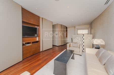 فلیٹ 1 غرفة نوم للايجار في وسط مدينة دبي، دبي - Fully Furnished | Boulevard View | Armani Residences