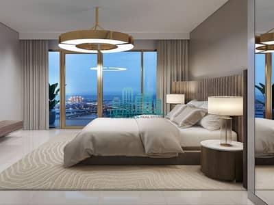 فلیٹ 4 غرفة نوم للبيع في دبي هاربور، دبي - Penthouse
