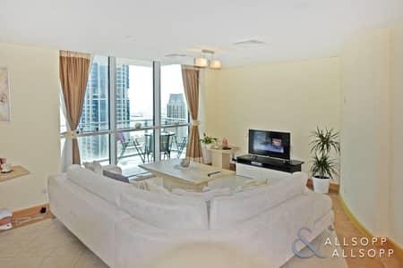 3 Bedroom Flat for Rent in Dubai Marina, Dubai - 3 Bed | Huge Balcony | Sea and Marina View