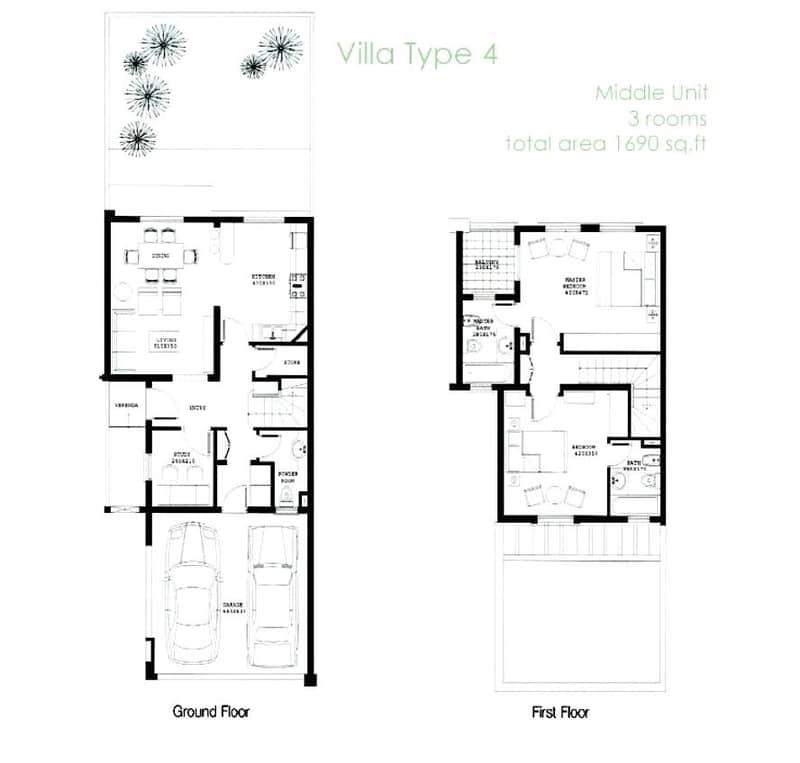 10 2 Bedroom Villa | 4M | Vacant on Transfer