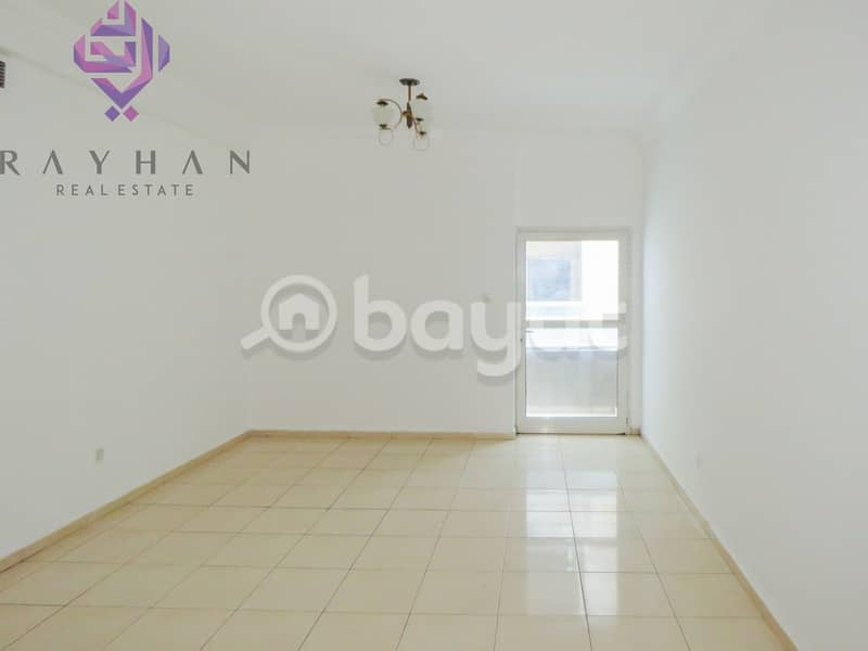 NO COMMISSION for 2 GREAT BEDROOMS + BALCONY  AVAILABLE IN AL WAHDA STREET | Direct from Owner