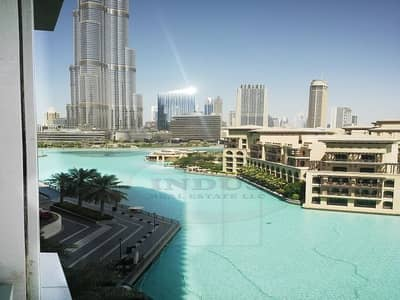 2 Bedroom Apartment for Sale in Downtown Dubai, Dubai - 2Br+Study  | Fountain and Burj View