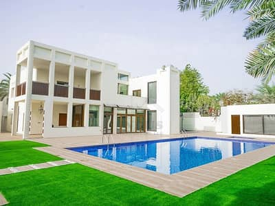 5 Bedroom Villa for Sale in Emirates Hills, Dubai - Exclusive 5BR Villa for Rent in Emirates Hills with Lake View