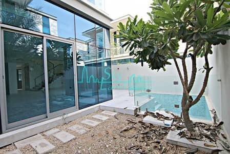 3 Bedroom Villa for Rent in Jumeirah, Dubai - CONTEMPORARY 3 BED+M VILLA WITH PRIVATE POOL IN JUMEIRAH 1